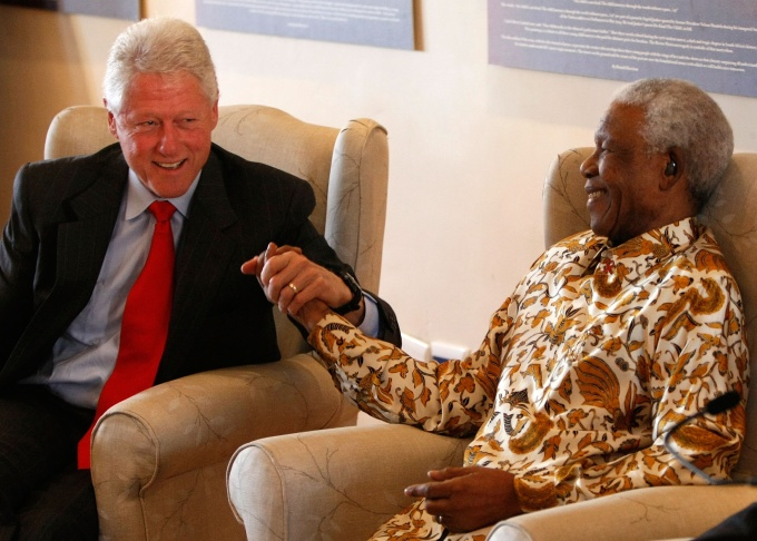 President Clinton Travels To Africa And DR With Foundation