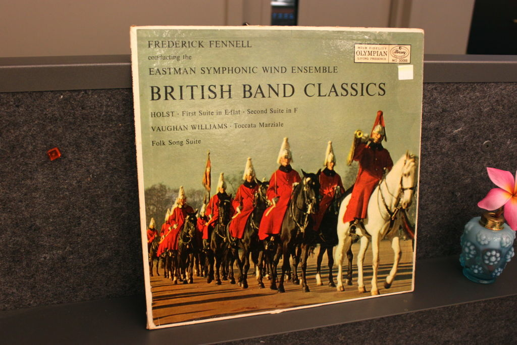 British Band Classics - Frederick Fennell conducting the Eastman Symphonic Wind Ensemble.