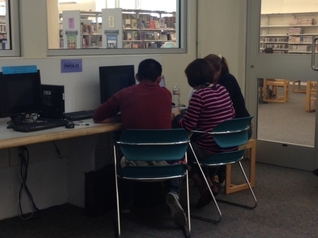 The branch library in Panorama City is just one library hosting enrollment workshops for Covered California.