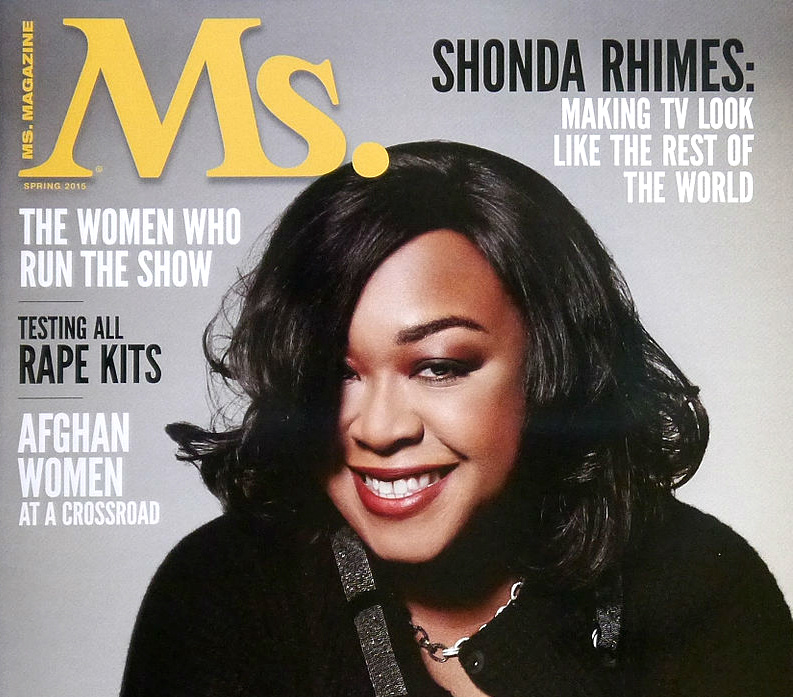 TV executive Shonda Rhimes