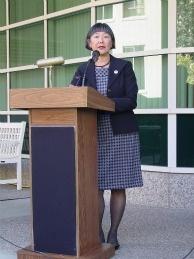 Yolo County Assemblywoman Mariko Yamada, author of AB 413.