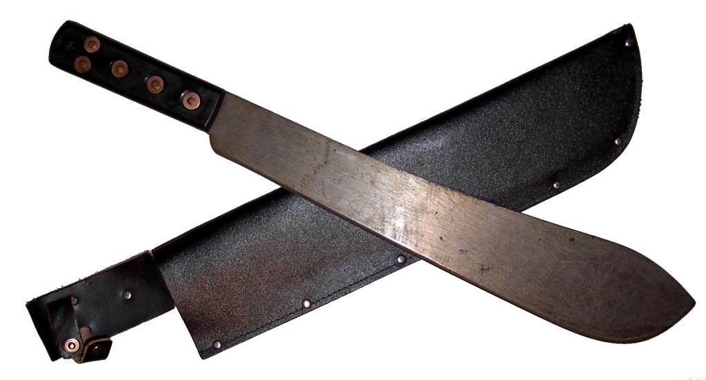 A machete.