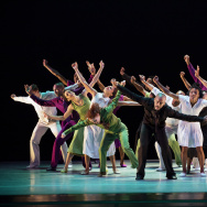 "The Alvin Ailey American Dance Theater performs ""r-Evolution, Dream,"" choreographed by Hope Boykin."