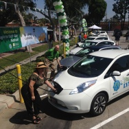 Lynwood electrical vehicle charging station