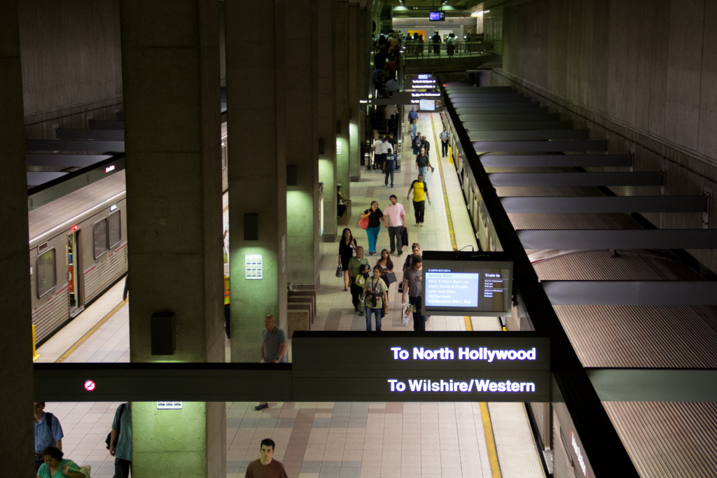 Metro's Purple Line currently ends at Wilshire and Western.