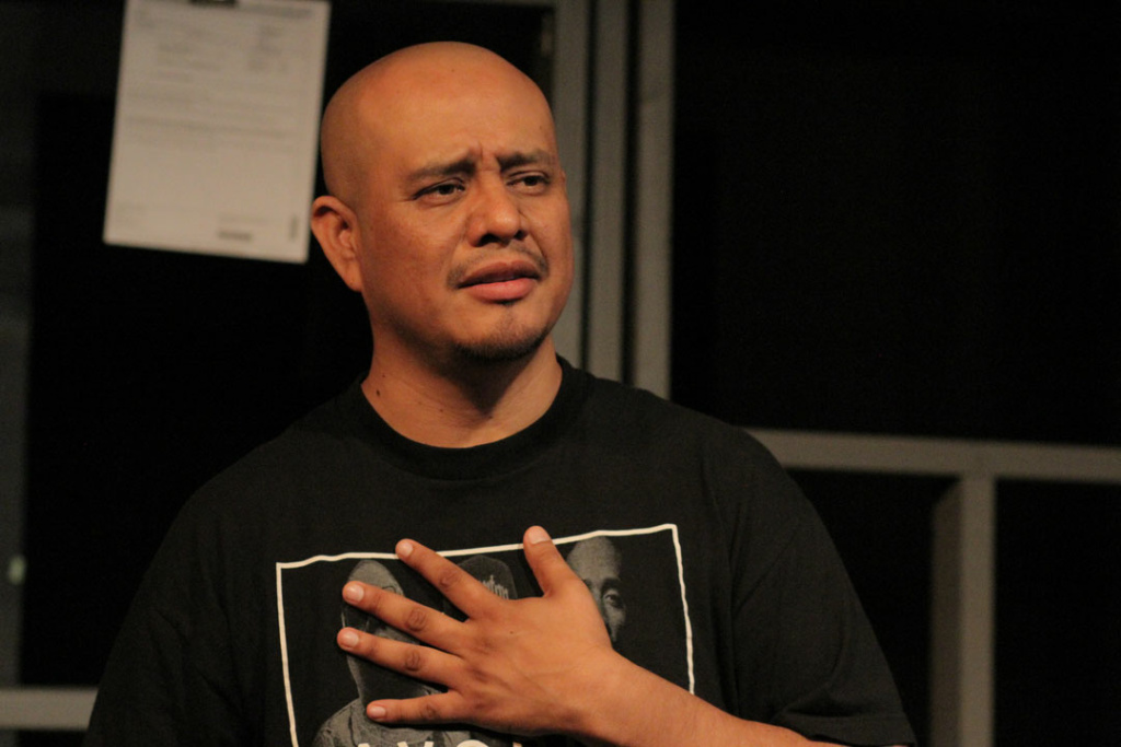 Alex Alpharaoh, writer and performer of