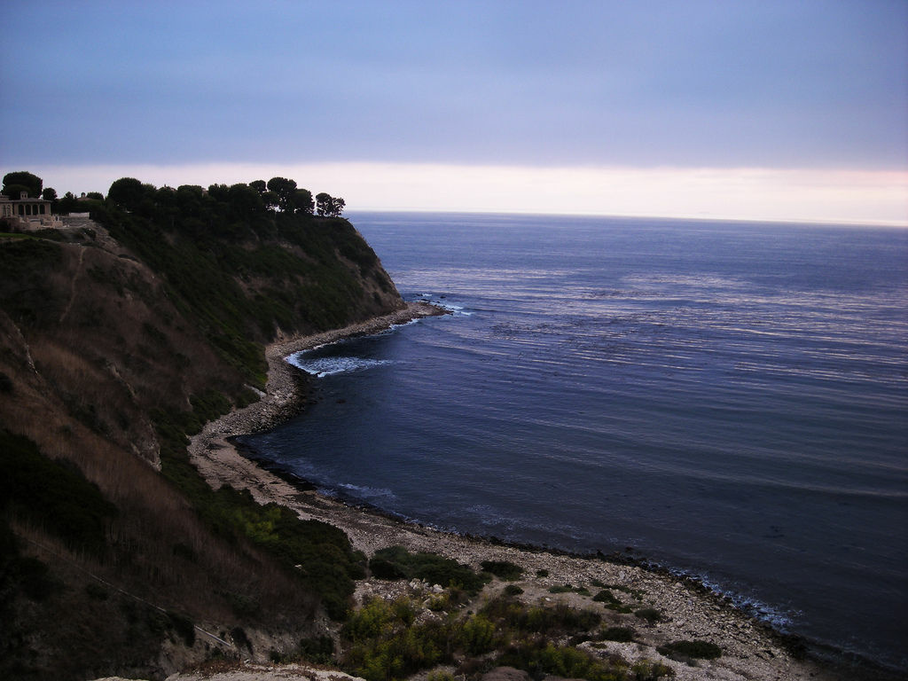 The coastline in Rancho Palos Verdes. A body was found off the coast Saturday, Aug. 18 that may be that of missing woman Rebecca Weiss.
