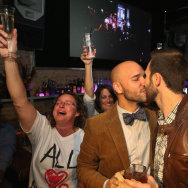 Chicago's Gay Community Celebrates Passing Of Same-Sex Marriage Law In Illinois