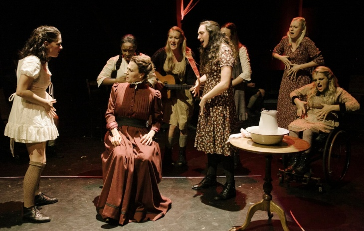 A scene from Deaf West Theatre's production of