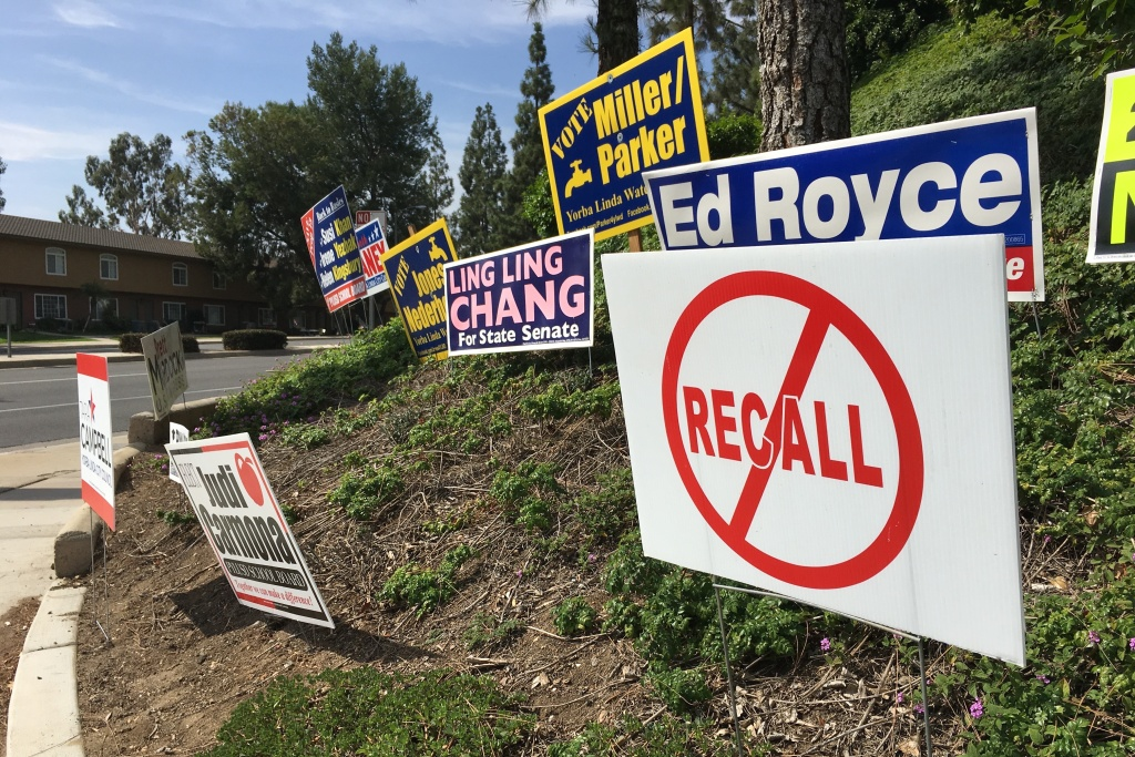 In Yorba Linda, birthplace of Richard Nixon, residents have always been passionate about local politics,  and recall elections are relatively routine.