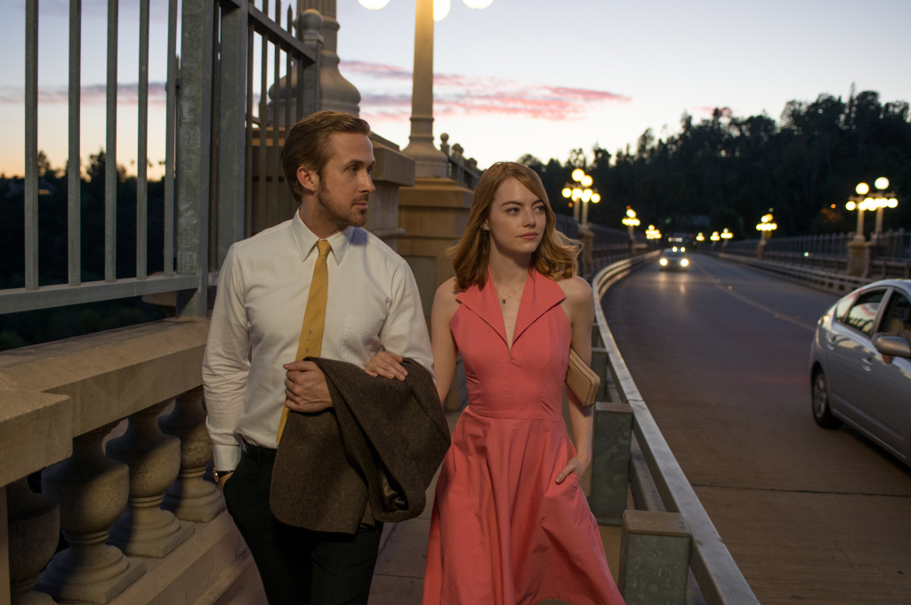Ryan Gosling and Emma Stone star in the movie musical