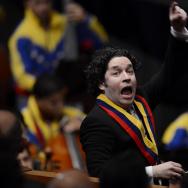 VENEZUELA-MADURO-SWEARING-MINISTERS