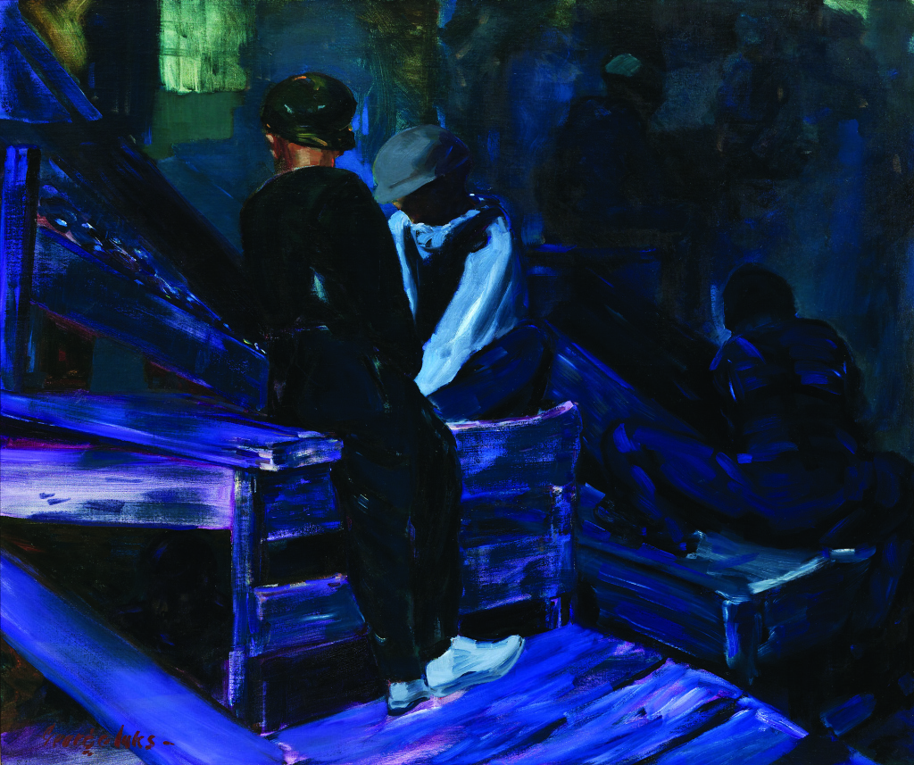George Luks (1867–1933), The Breaker Boys, ca. 1925. Oil on canvas. The Huntington Library, Art Collections, and Botanical Gardens.