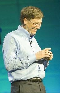 Bill Gates Bill Gates at the Consumer Electronics Show in Las Vegas, Nevada.