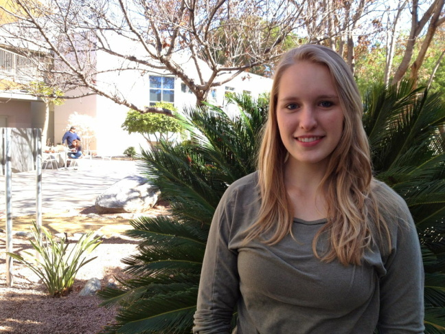 Pitzer College junior Jess Grady-Benson and dozens of other students at the Claremont colleges are working together to push their schools' investments out of fossil fuels.