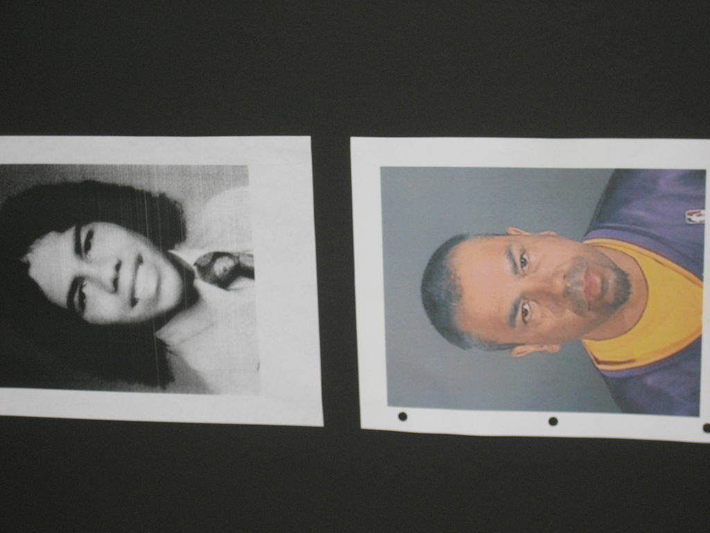 Police say Dennis Vasquez was 17-years-old (top photo) when he raped and murdered an 80-year-old Venice woman in 1975.  The bottom photo is Vasquez today.  Police say DNA evidence helped them track down Vasquez.