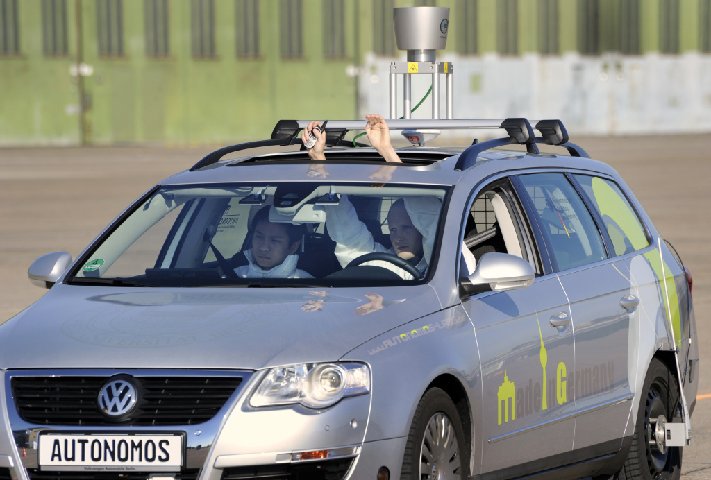 The driverless car