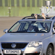 "The driverless car ""Made in Germany"" (MI"