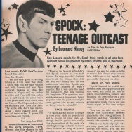 A young girl with a white father and a black mother wrote to the half-Vulcan, half-human Spock for advice on fitting in.
