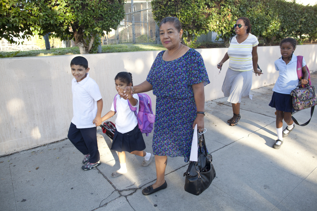 Parents worry about children walking to school, seek ...