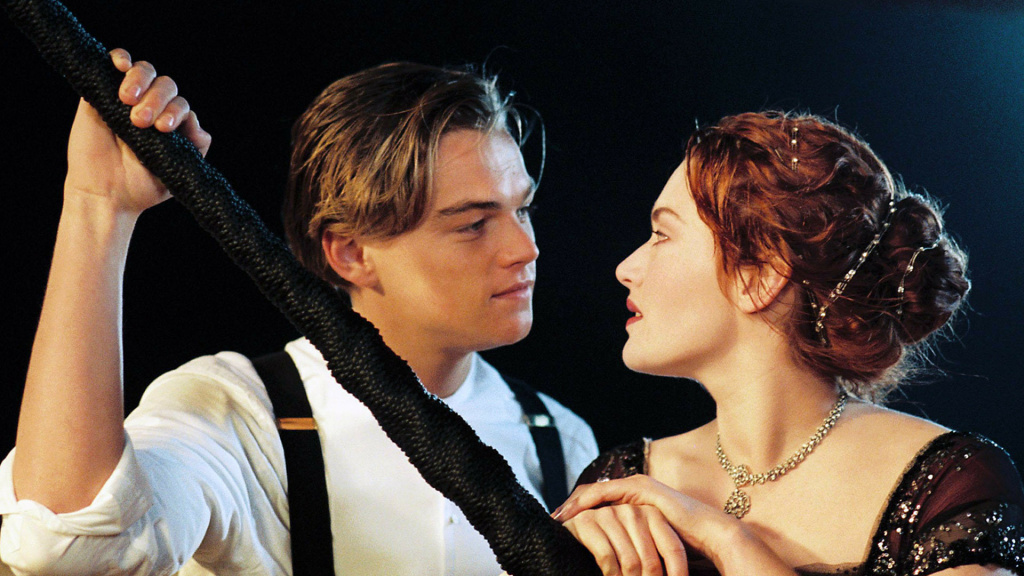 Leonardo DiCaprio and Kate Winslet in