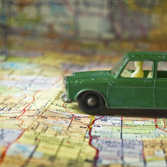 car toy map driving road trip travel