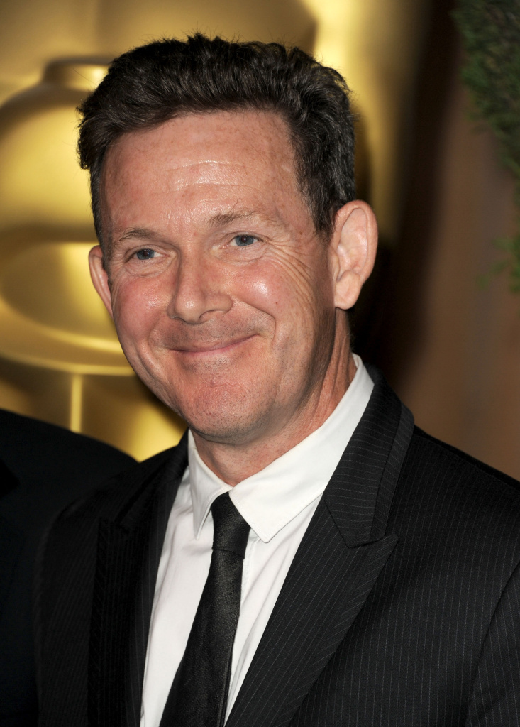 creenwriter John Logan arrives at the 84th Academy Awards Nominations Luncheon at The Beverly Hilton hotel on February 6, 2012 in Beverly Hills, California.