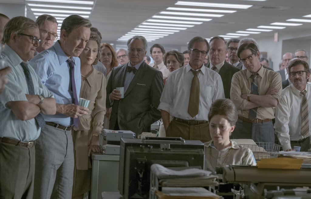 Tom Hanks and Meryl Streep star in Twentieth Century Fox's THE POST.