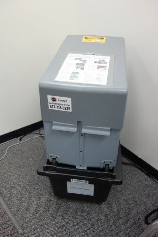 Ballot box, Los Angeles County