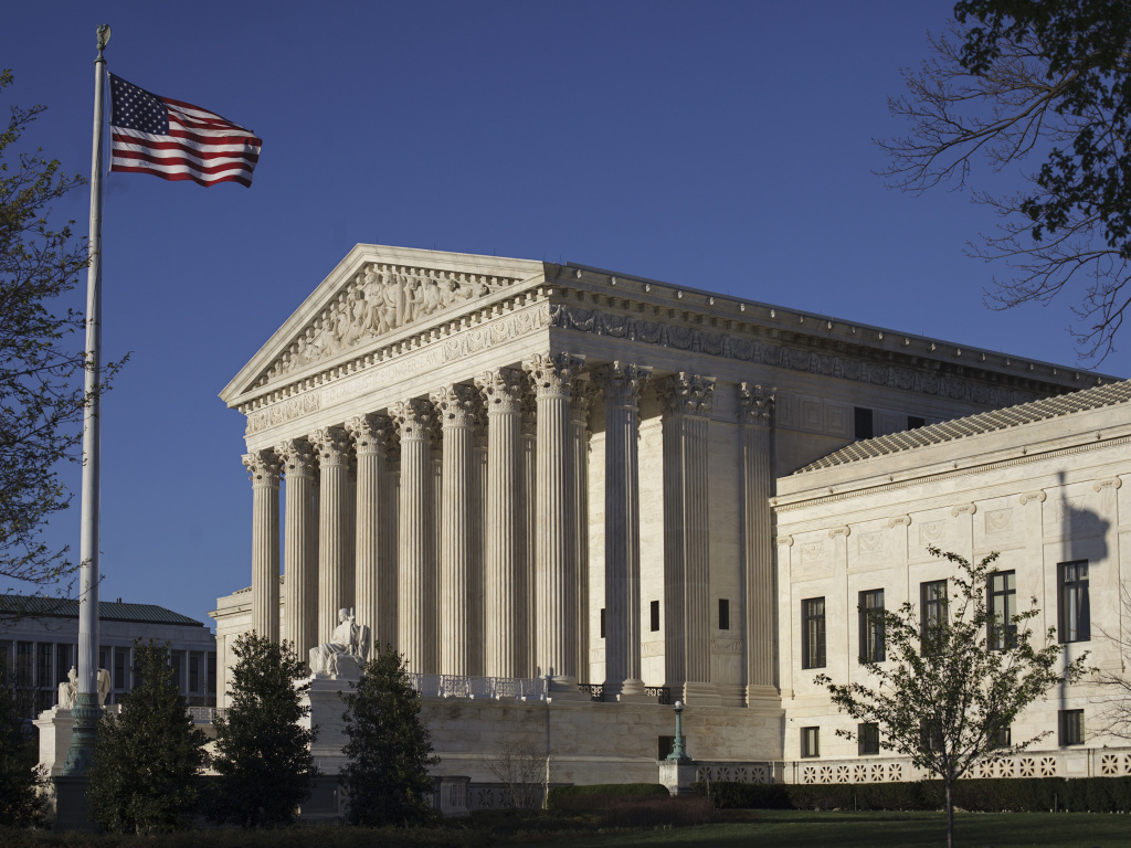 The Supreme Court hears arguments in a case involving the U.S. census.