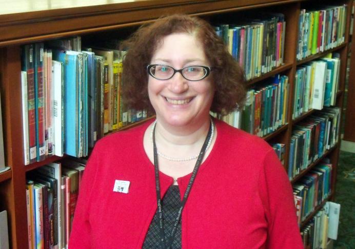 L.A. Public Library children's librarian Mara Alpert