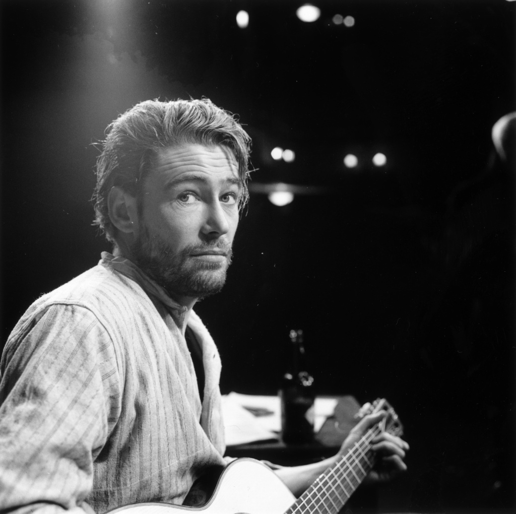 Irish actor of stage and screen, Peter O'Toole, in the play 'Baal' on February 5, 1963.