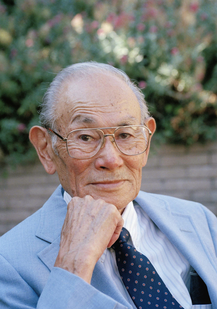 Fred Korematsu at his home in San Leandro, Calif., in 1996.