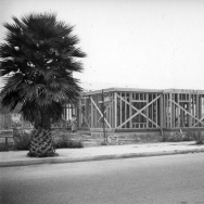 Herman J. Schultheis photo of home under construction