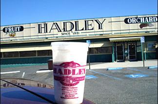 Off-Ramp commentator and shake sampler Jeff Girod liked Hadley's date shake.