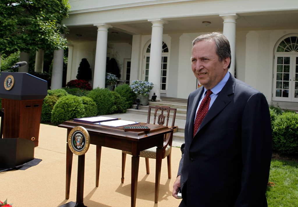 Larry Summers was thought to be the front runner for the job as the new head of the Federal Reserve until he withdrew from the race yesterday.