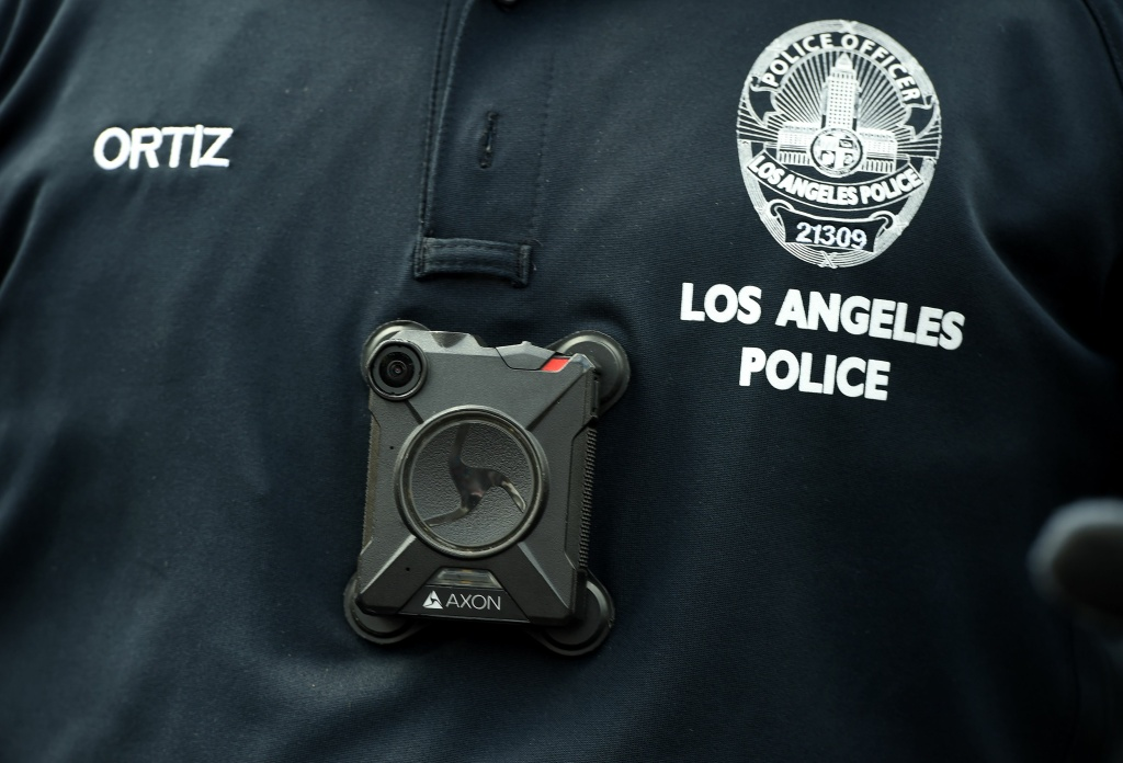 Police facial recognition scanners