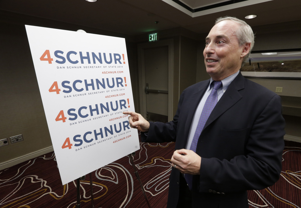 Dan Schnur, director of USC's Unruh Institute of Politics and former spokesman for Governor Pete Wilson, is running for California Secretary of State but is not designating a party preference.