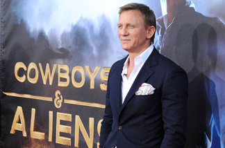 Actor Daniel Craig attends the Premiere of Universal Pictures 'Cowboys & Aliens' during Comic-Con 2011 at San Diego Civic Theatre on July 23, 2011 in San Diego.