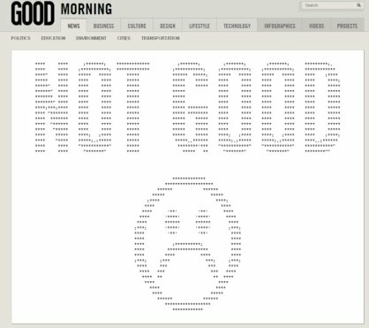GOOD's 404 error message appeared on the website's job opportunities page a few days after a mass firing of the staff.