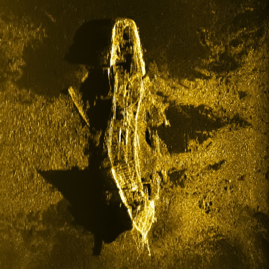 One of the two wreck sites identified in 2015 during the extensive search for flight MH370.