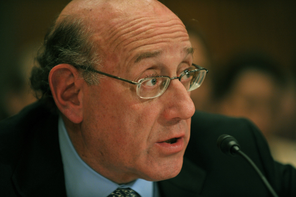 Kenneth Feinberg, Administrator of the Gulf Coast Claims Facility testifies before the Senate Homeland Security and Governmental Affairs Ad Hoc Committee on Disaster Recovery at hearing subtitled 'An Examination of Claims and Social Services in the Aftermath of the Deepwater Horizon Oil Spill' on January 27, 2011on Capitol Hill in Washington, DC.