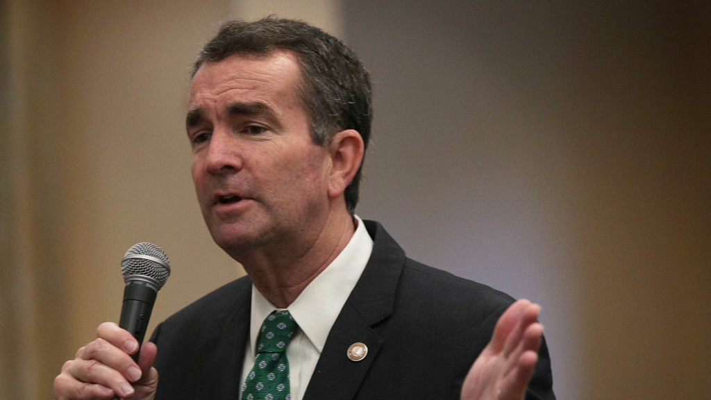 Democratic gubernatorial candidate and Virginia Lt. Gov. Ralph Northam speaks to residents during a visit at Greenspring Retirement Community in Springfield, Va., last month.
