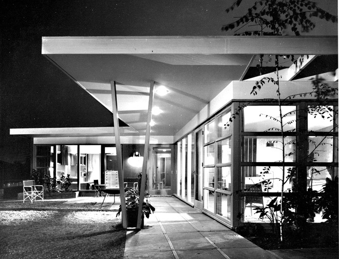 Choy Residence by architect Eugene Choy, 1949.