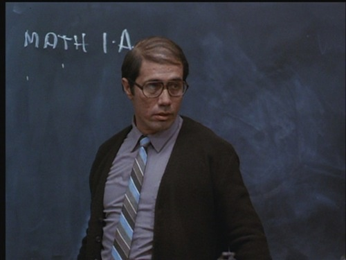 Edward James Olmos as math teacher Jaime Escalante in