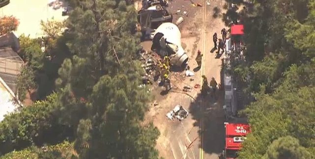 A fatal crash involving a cement truck occurred on Loma Vista Drive, where two previous crashes occurred, on Friday.