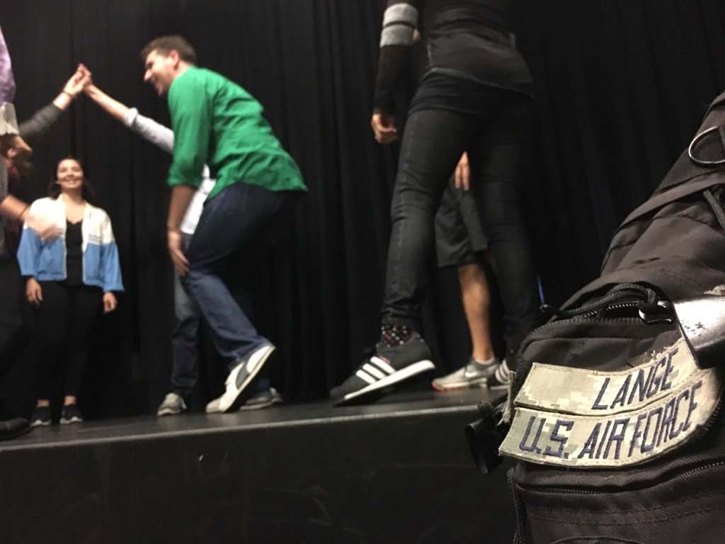 At the first improv class for veterans at Hollywood's Second City, veterans from all four branches of the military gathered to learn acting skills.