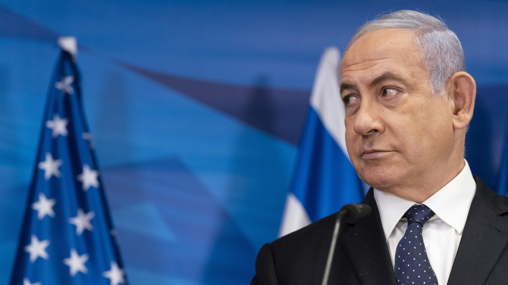 Israeli Prime Minister Benjamin Netanyahu, pictured on May 25, may be out of his position if opponents form a unity government.