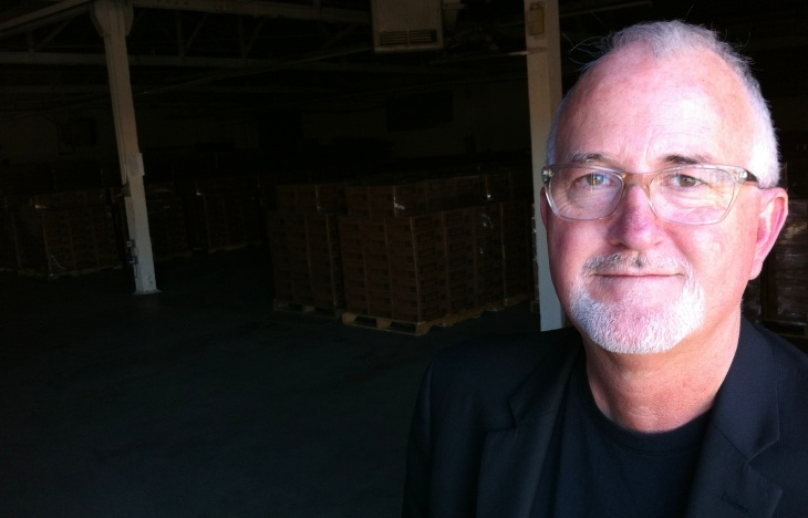 LA Kitchen's Robert Egger in his non-profit's new space on West Ave 26 in Lincoln Heights