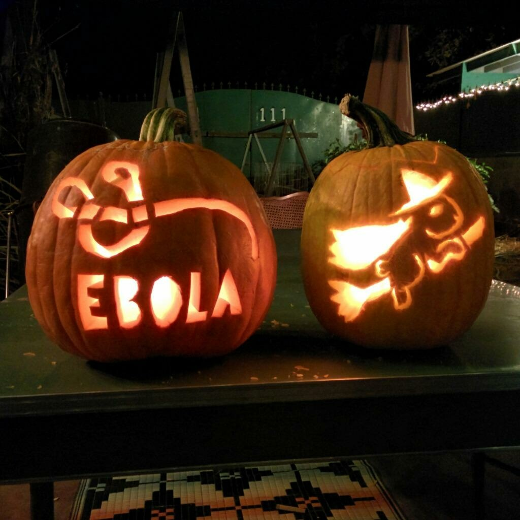 On Halloween, a new poll finds there's one thing that a majority of Golden State residents are not worried about: Ebola.